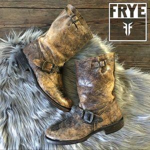 FRYE | Veronica Engineer Short Moto Boots